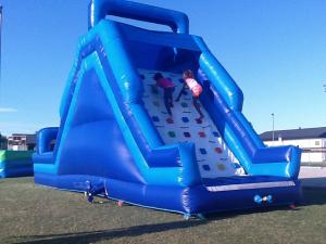 Blue Slide ($240) 22ft high x 30 ft long